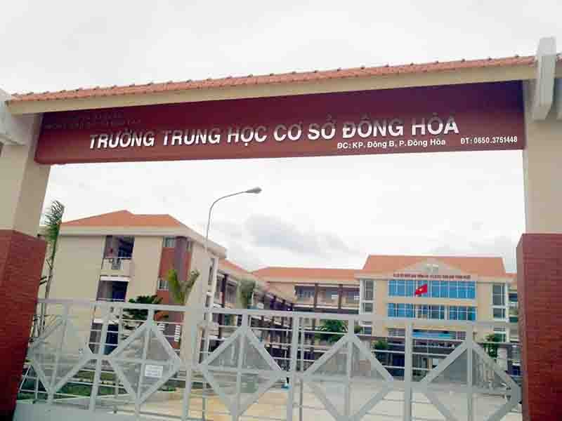 Dong Hoa Hight school